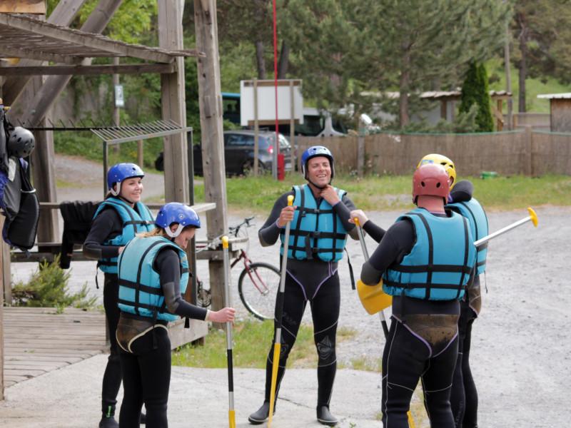 equipement rafting en ubaye