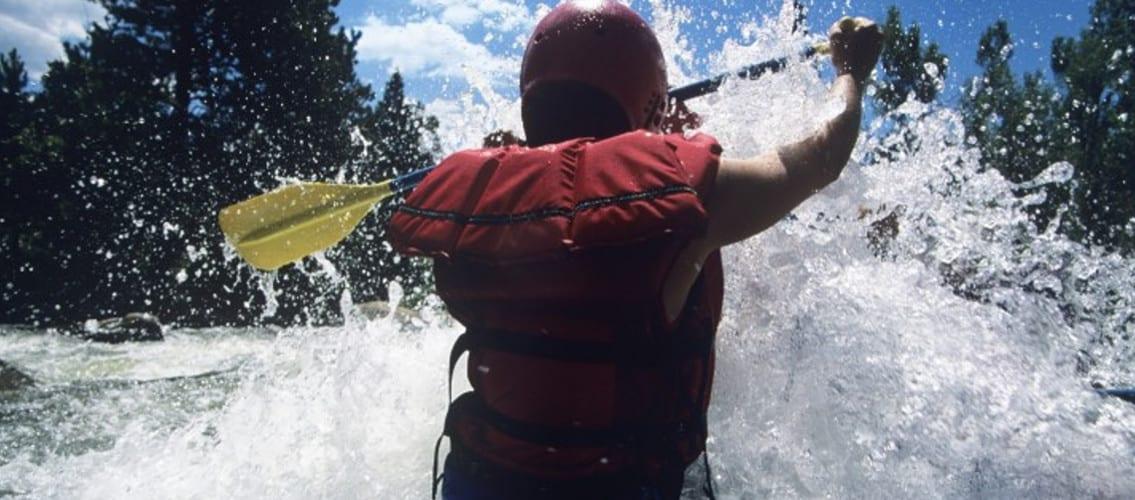 photo de rafting et raft en ubaye et barcelonnette avec evp