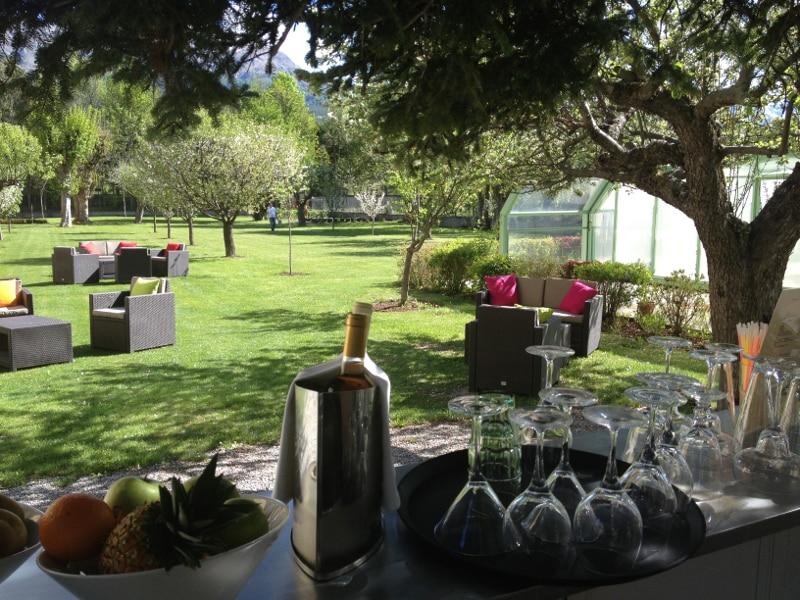 photo jardin du villa morelia seminaire rafting en ubaye evp