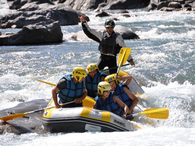 promotion rafting et raft decouverte en ubaye avec evp