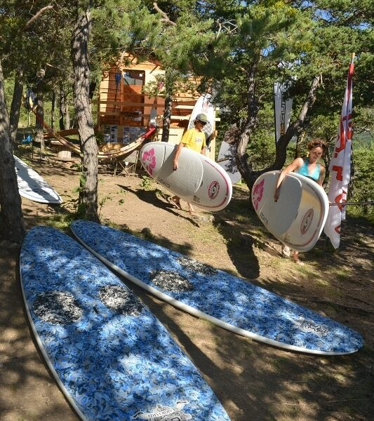stand up paddle lac de serre poncon