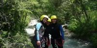 equipement du canyoning en ubaye