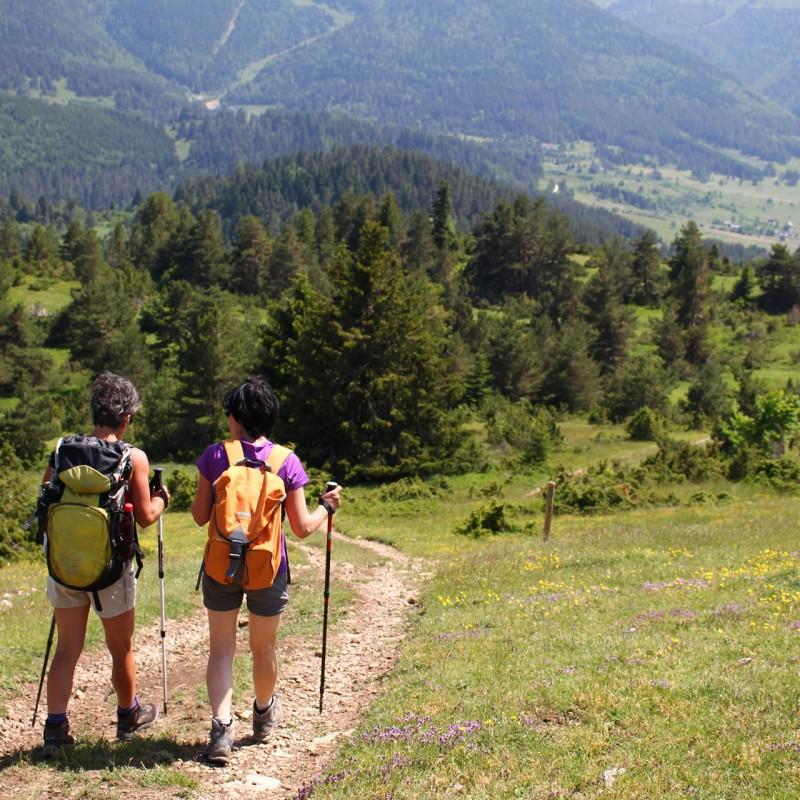 randonnee en montagne au domaine du lavercq en ubaye et barcelonntte avec evp dans les alpes du sud