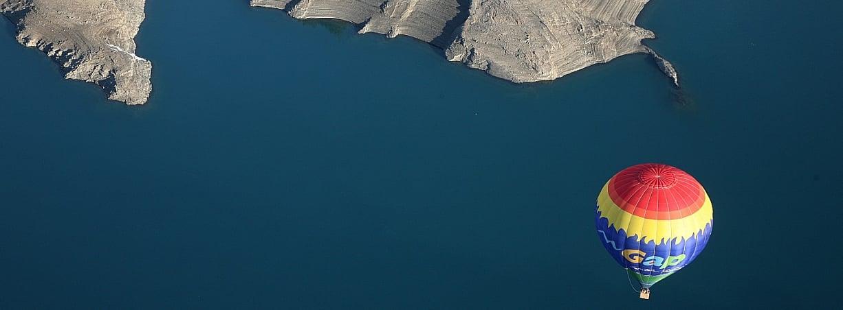 montgolfiere dans les hautes alpes avec evp
